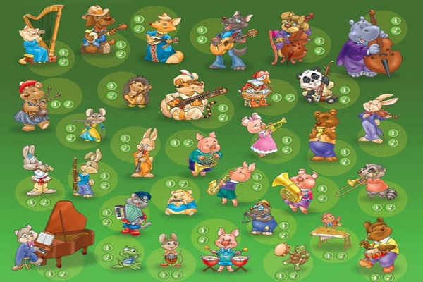картинка симфонического оркестра для детей